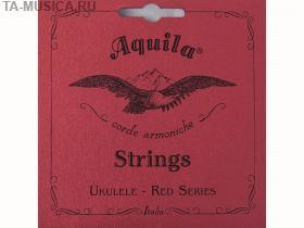 Струны для укулеле сопрано AQUILA RED SERIES 83U (High G-C-E-A) купить
