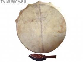 Купить Бубен шаманский с колотушкой (Хакассия) 40 см