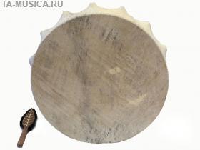 Бубен шаманский 60 см Хакасия (Ч) купить с доставкой