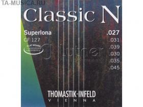 Струны для акустической гитары Thomastik Classic N CF127 нейлон/хромированная ст