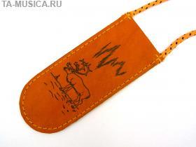 Чехол кожаный для варганов Глазырина (средний) купить с доставкой