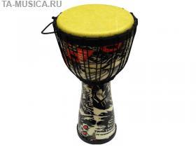 Джембе 10 дюймов пластиковый TERRIS DPR-10 Black купить