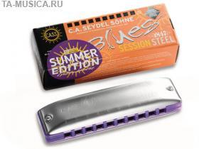 Губная гармошка Session Steel Summer Edition C, 10301C_S, Seydel Sohne купить