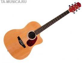 Акустическая фолк-гитара с вырезом Naranda CAG280CNA купить