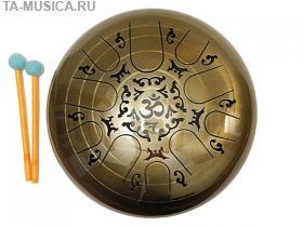 Глюкофон 35 см 10 лепестков гравированный Kosmosky купить