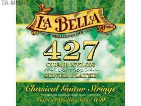 Струны для классической гитары La Bella 427, нейлон, посеребреная медь купить