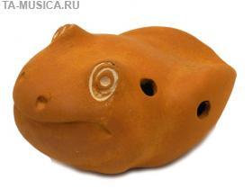 Окарина малая сувенирная Лягушка купить с доставкой