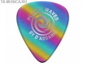 Медиаторы Rainbow целлулоид, 10шт, толстые, Planet Waves купить