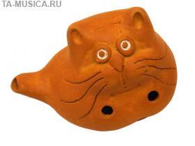 Окарина малая сувенирная Котик купить с доставкой