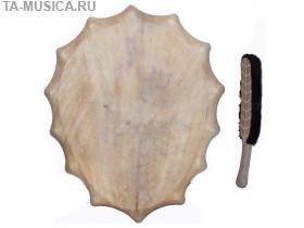 Бубен в якутском стиле 50/35 см, Хакасия (Ч) купить