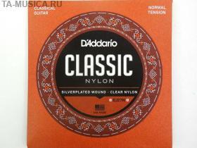 Струны для классической гитары D'ADDARIO EJ27N Normal купить
