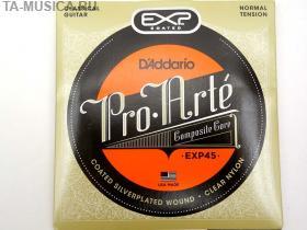 Струны для классической гитары D'ADDARIO EXP45 Normal купить