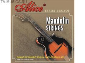 Струны для мандолины, латунь, 10-34, AM04 Alice купить