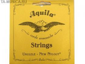 Струны для укулеле баритон AQUILA NEW NYLGUT 21 (Low D-G-B-E) купить