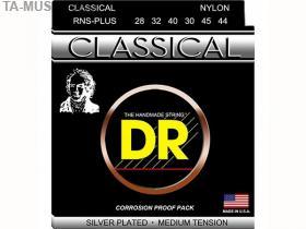 Струны для классической гитары среднее натяжение, RNS-PLUS, DR купить