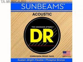 Струны для акустической гитары, 12-54, RCA-12 SunBeams, DR купить