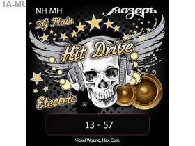 Струны для электрогитары, 13-57, NH-MH Hit Drive, Мозеръ купить