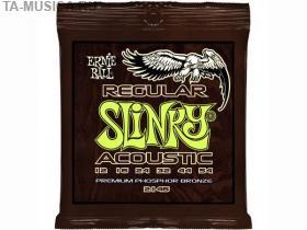 Струны для акустической гитары 12-54, P02146 Slinky Regular, Ernie Ball купить