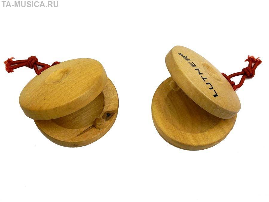 деревянные кастаньеты Lutner купить Ta Musica