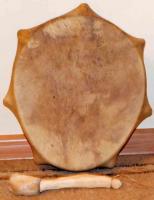 Бубен овальный 25-30 см, Хакасия (СТ)