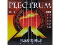 Струны для акустической гитары Thomastik Plectrum AC110 сталь/бронза 010-041