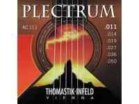 Струны для акустической гитары Thomastik Plectrum AC111 сталь/бронза 011-050