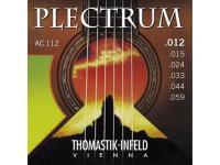 Струны для акустической гитары Thomastik Plectrum AC112 сталь/бронза 012-059