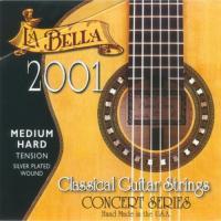 Струны для акустической гитары LA BELLA 2001 Medium 29-41.5 нейлон