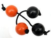 Асалато чёрно-красный пластик (Patica)
