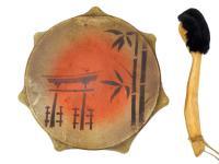 Бубен сувенирный 20 см с рисунком (СТ)