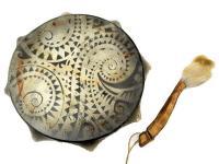 Бубен сувенирный 25 см с рисунком (СТ)
