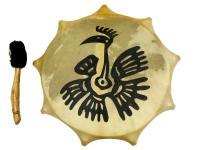 Бубен сувенирный 35 см с рисунком (СТ)