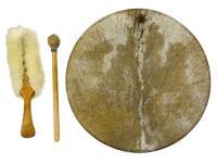 Бубен шаманский 45 см (М)