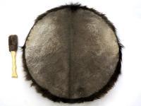 Бубен индейский 58-60 см с мехом