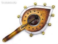 Трещотка-веер с колокольчиками (music bell)