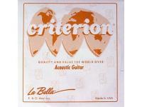 Струна одиночная La Bella CGW038 Criterion, бронза, 038