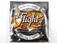 Струны для акустической гитары Flight Extra Light 10-47