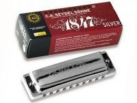 Губная гармошка 1847 Silver C, 16301C, Seydel Sohne