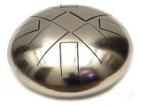 Глюкофон 30 см 8 лепестков никелированный (ВсёЗвук)