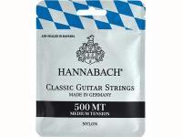 Струны для классической гитары, посеребренная медь, среднее натяжение, 500MT, Hannabach