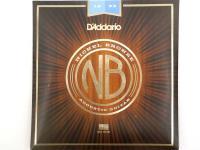 Струны для акустической гитары D'ADDARIO NB1253 Nikel Bronze 12-53