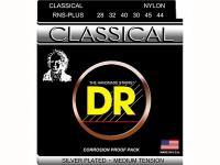 Струны для классической гитары посеребренные, среднее натяжение, RNS-PLUS, DR