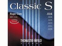 Струны для классической гитары, сталь/нейлон и посер.медь, 16-39, KR116 Classic S, Thomastik