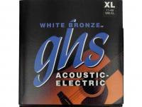 Струны металлические GHS WB-XL White Bronze 11-48