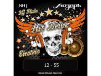 Струны для электрогитары, 12-55, NH-J Hit Drive Jazz, Мозеръ купить