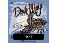 Струны для электрогитары, никель, Light, 10-46, NR-L Drive Way, Мозеръ