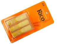 Трости для саксофона альт, размер 2.0, 3шт, Rico RJA0320