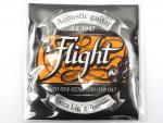 Струны для акустической гитары Flight Extra Light 10-47, AB1047