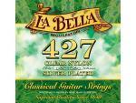 Струны для классической гитары La Bella 427, нейлон, посеребреная медь