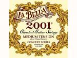 Струны для классической гитары La Bella нейлон 2001 medium